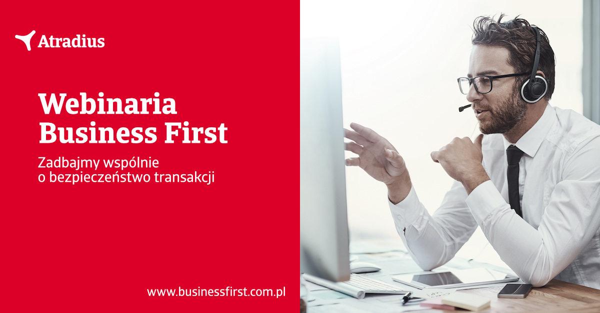 Webinarium Business First (Hero photo)